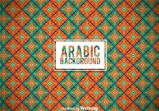 阿拉伯装饰背景
