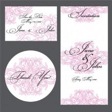 婚礼贺卡设计图片