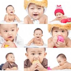 可爱婴儿表情图集图片