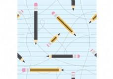 铅笔矢量模式
