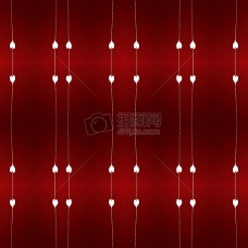 深红色下的图案背景