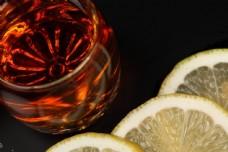 柠檬和饮料图片