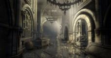 被袭击的教堂