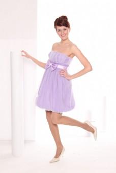 裙装女孩图片