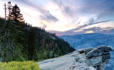 美国加州优山美地国家公园风景