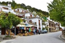 西班牙内华达山脉小城风景