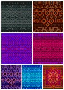 传统文化刺绣背景1