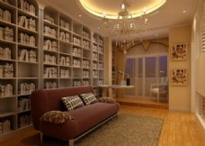 3D客厅效果图