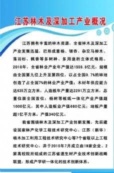 江苏林木及深加工产业概况