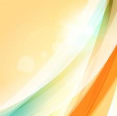 炫彩线条背景