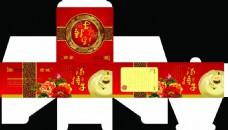 中国风汤捂子礼盒包装设计