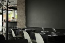 餐厅餐桌椅子图片