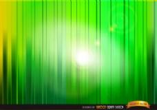 通过绿色垂直条纹的背景