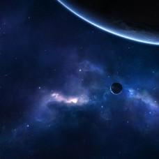 科幻星空背景素材