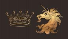 抽象马 皇冠
