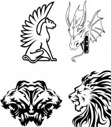 狮子头 虎头 龙头