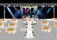 婚礼舞台效果