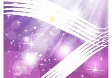 紫色闪光背景