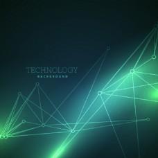 炫酷光效科技背景