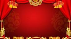 灯笼红色喜庆背景