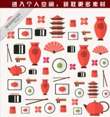 日本文化元素符号