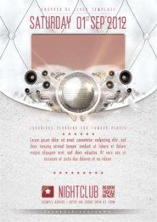 俱乐部海报传单设计图片