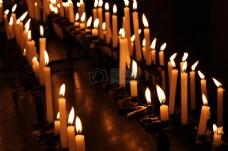 祷告用的蜡烛