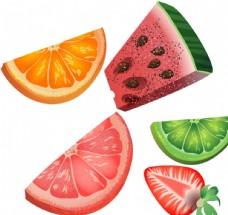 西瓜 橙子 草莓