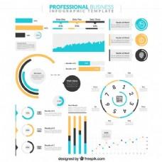 可爱的商务图表
