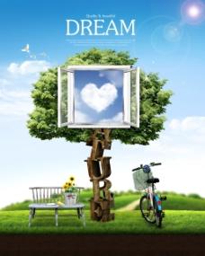 创意环保海报图片