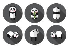 向量的熊猫