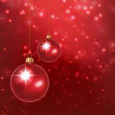 圣诞装饰球背景