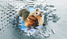 3D立体松鼠