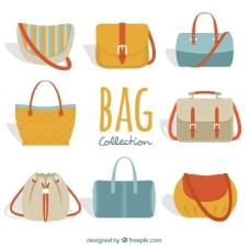 大收藏丰富多彩的女人的包