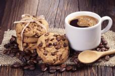 饼干与咖啡图片