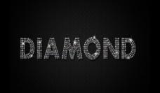 闪亮钻石字体