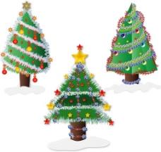 圣诞树矢量图