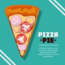 一块披萨图片