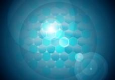 纳米技术背景矢量免费# 2