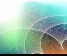 抽象背景与网格矢量图形