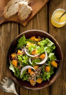 美味蔬菜沙拉图片