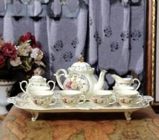 欧式陶瓷茶具
