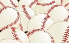 矢量花纹棒球