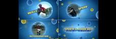 蓝色泡泡相册视频展示