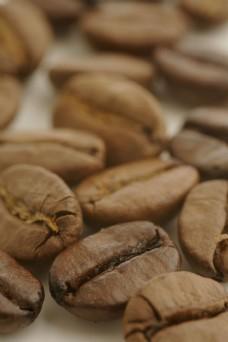咖啡豆特写图片