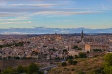 西班牙古城托莱多风景