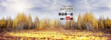 秋季新品海报背景