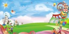 幼儿园背景图