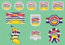 不列颠哥伦比亚国旗