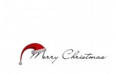 圣诞节空白背景图片